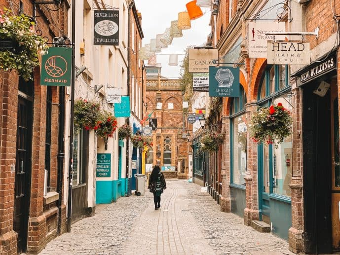 Harry Potter Exeter Tour Locations