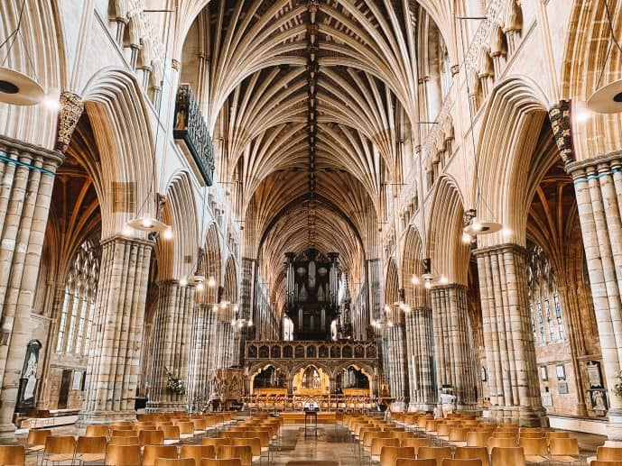 Harry potter Exeter Cathedral GreaT Hall Hogwarts