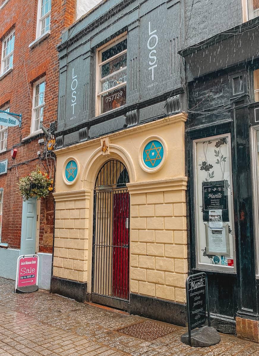 The Masonic Lodge Door on Gandy Street