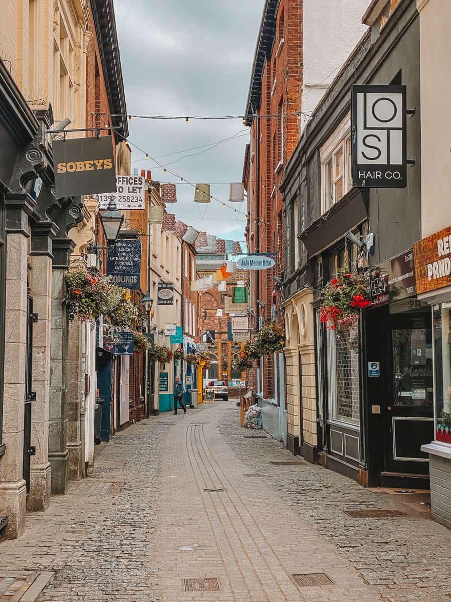 Diagon Alley Exeter Gandy Street