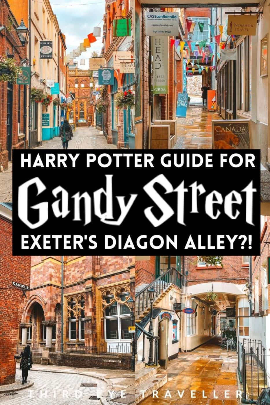 Harry Potter Gandy Street Exeter Diagon Alley