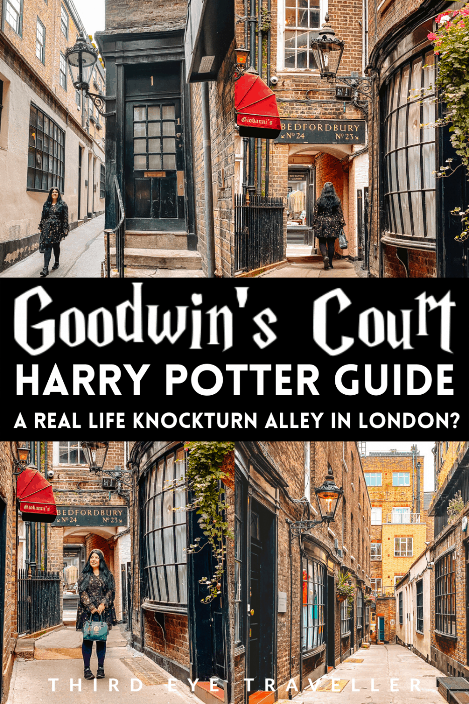 Harry Potter Goodwin's Court London Knockturn Alley Diagon Alley