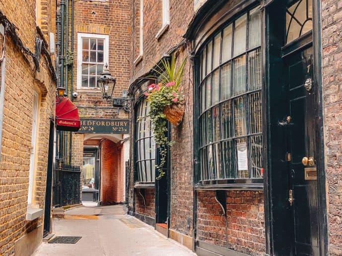 Harry potter Goodwin's Court London