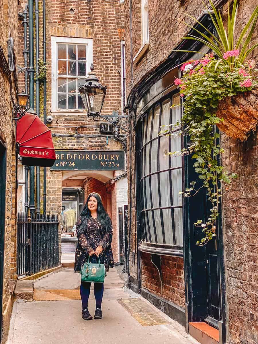 Harry Potter Goodwin's Court Knockturn Alley in Real Life