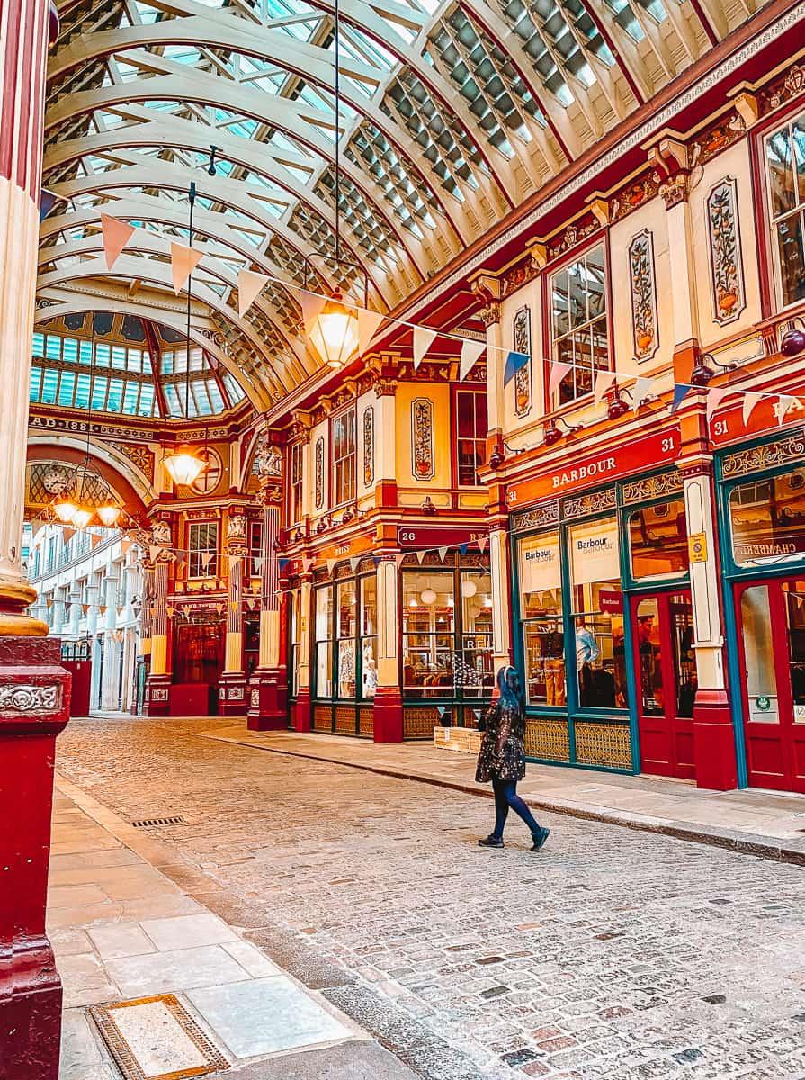 Leadenhall Market Harry potter Diagon Alley