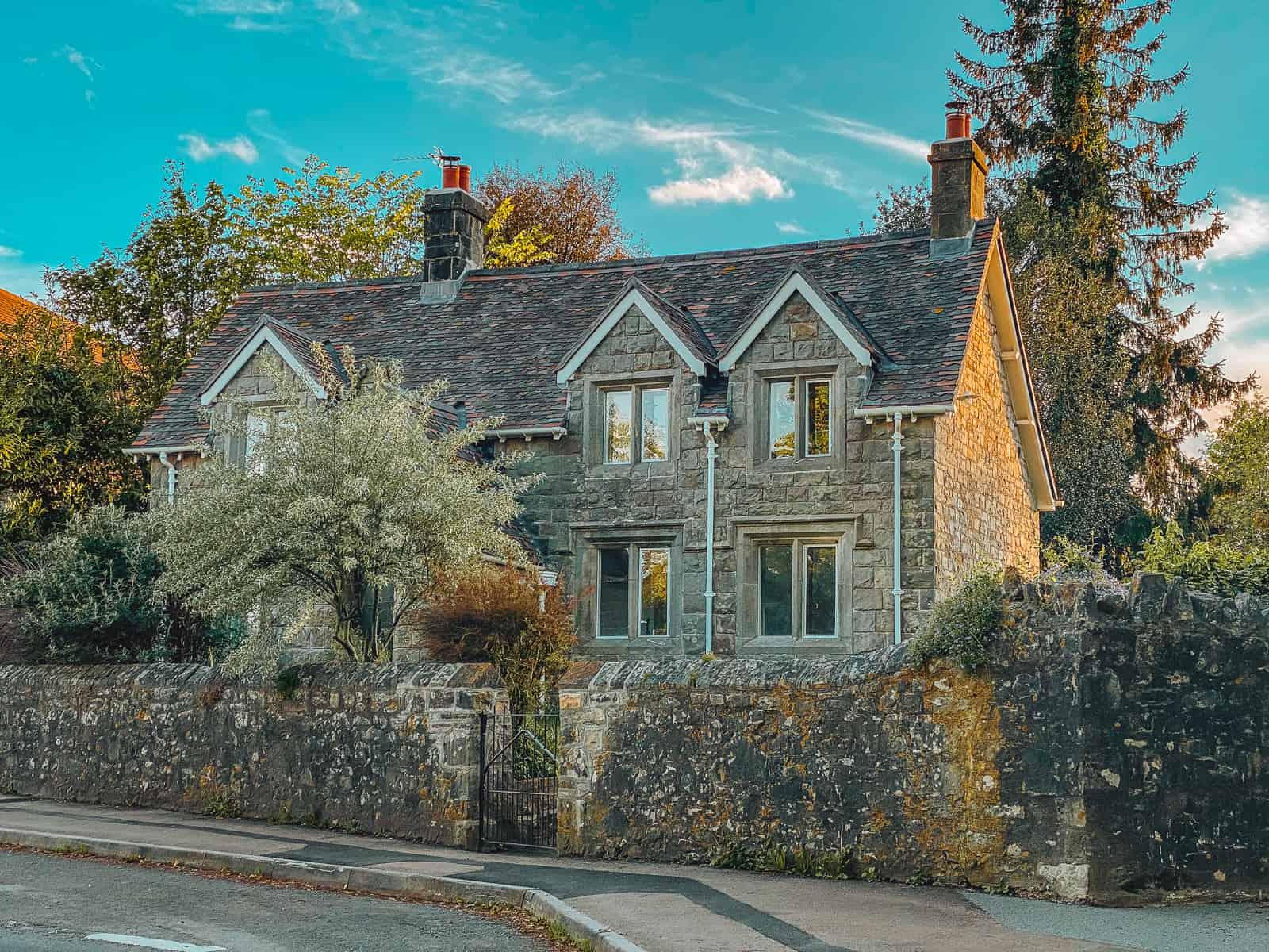 Church Cottage Tutshill Harry Potter Tutshill Tornados Quidditch Town