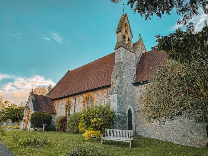 Tutshill Church St Luke's Parish church Tutshill
