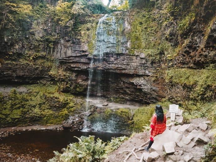 Henrhyd Falls Brecon Beacons