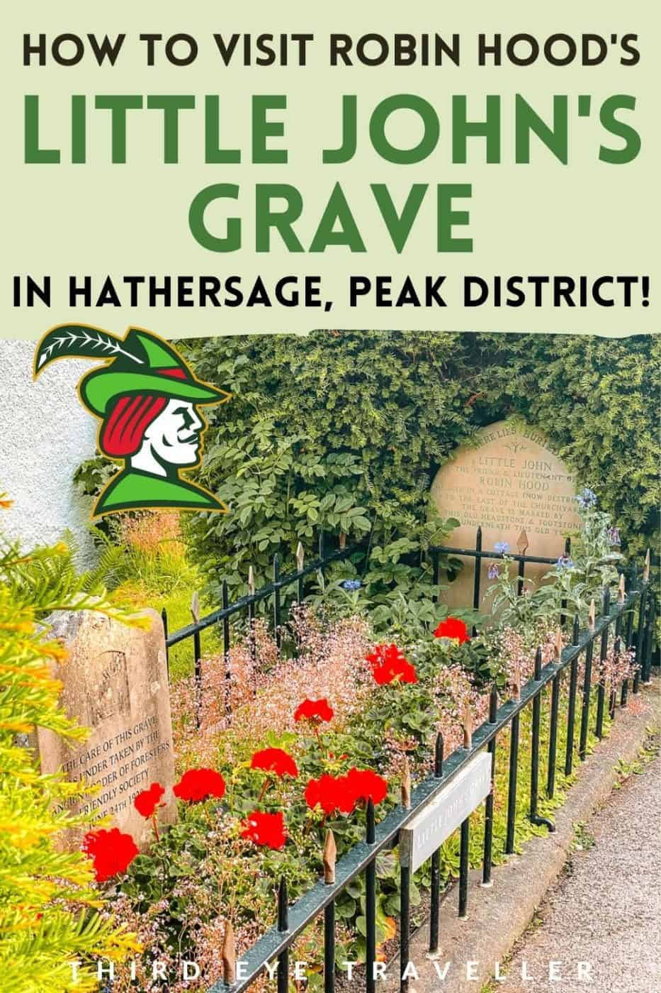 How to find Little John's Grave Hathersage Peak District