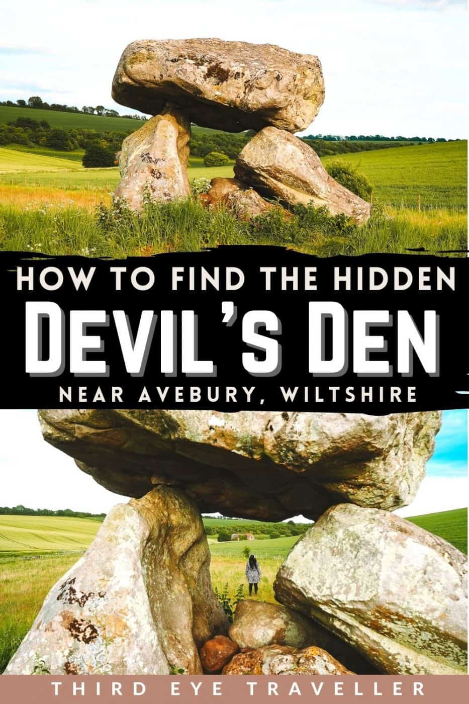 How to find the Devil's Den Fyfield Down Avebury