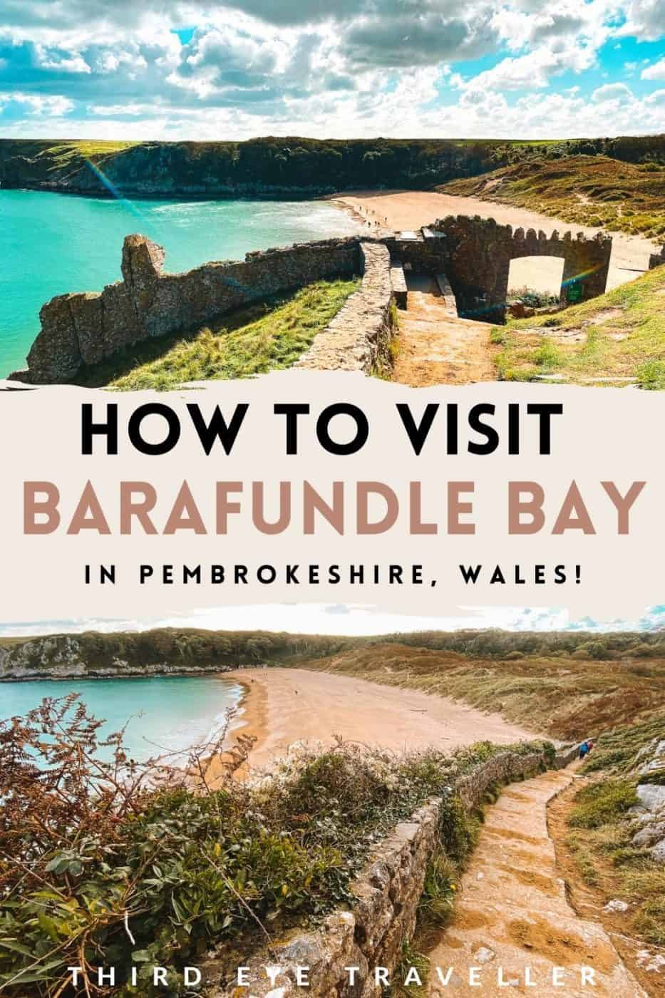How to Visit Barafundle Bay in Pembrokeshire Wales