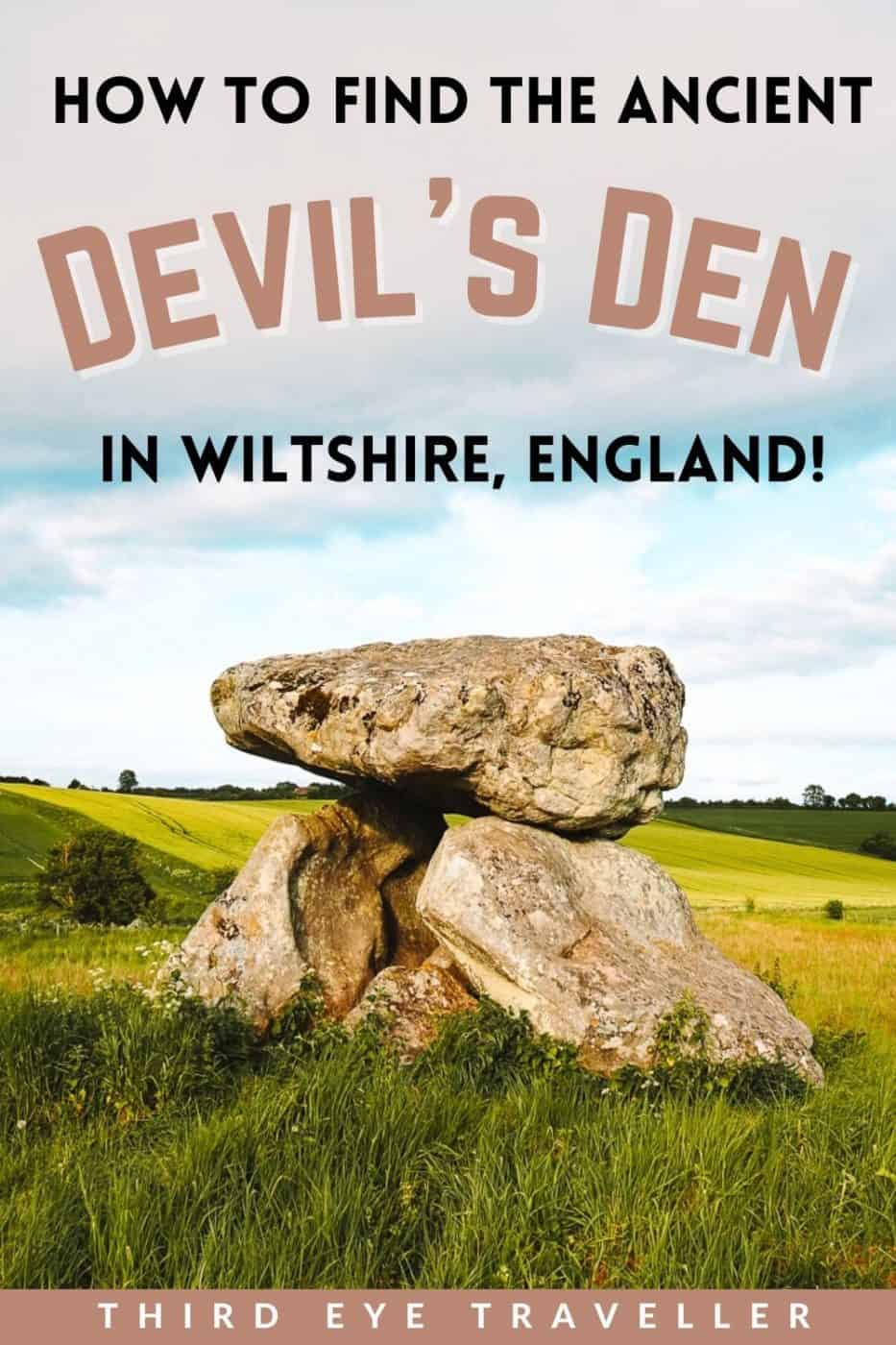How to Find the Devil's Den in Wiltshire