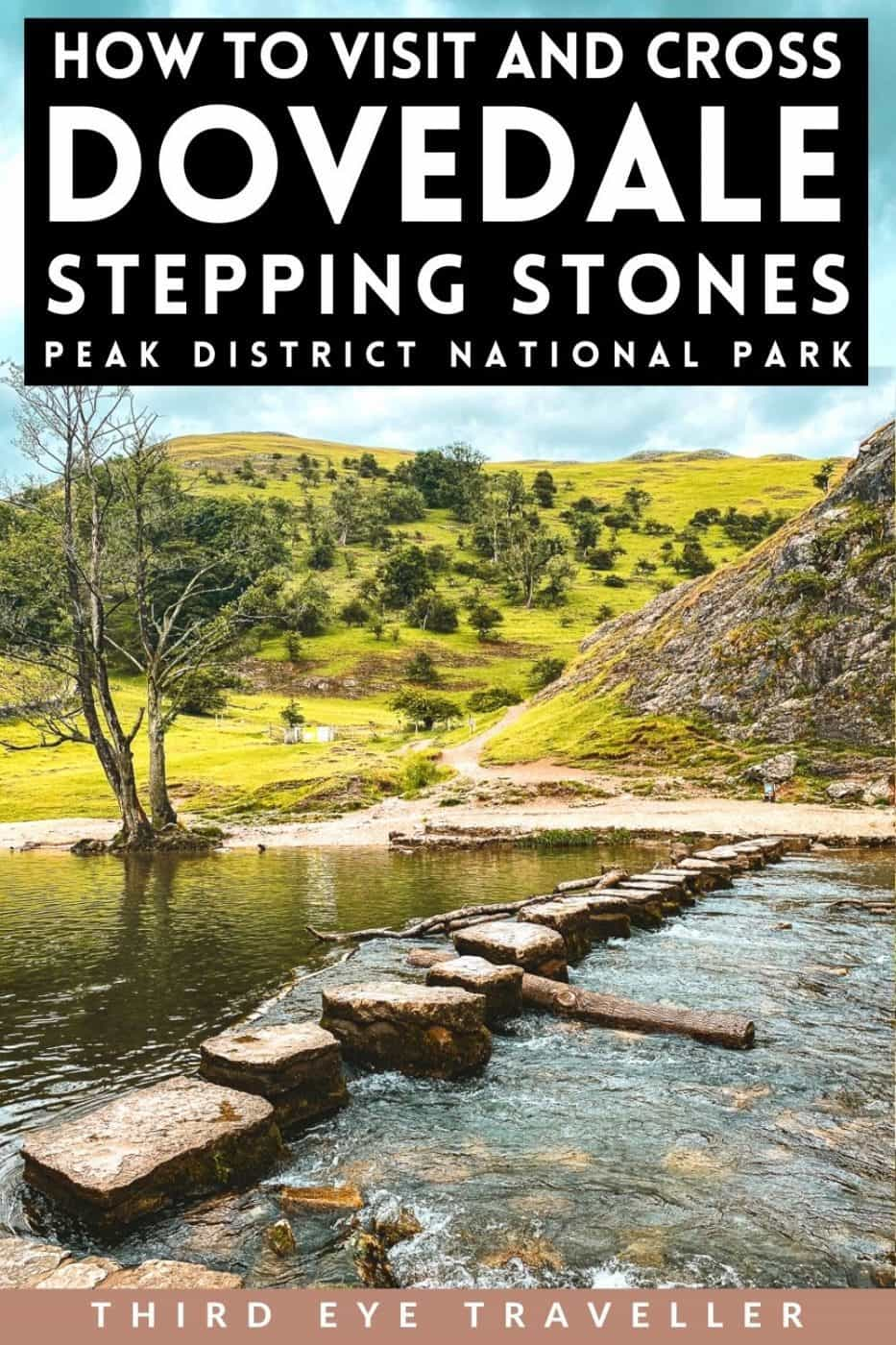 How to get to Dovedale Stepping stones Peak District