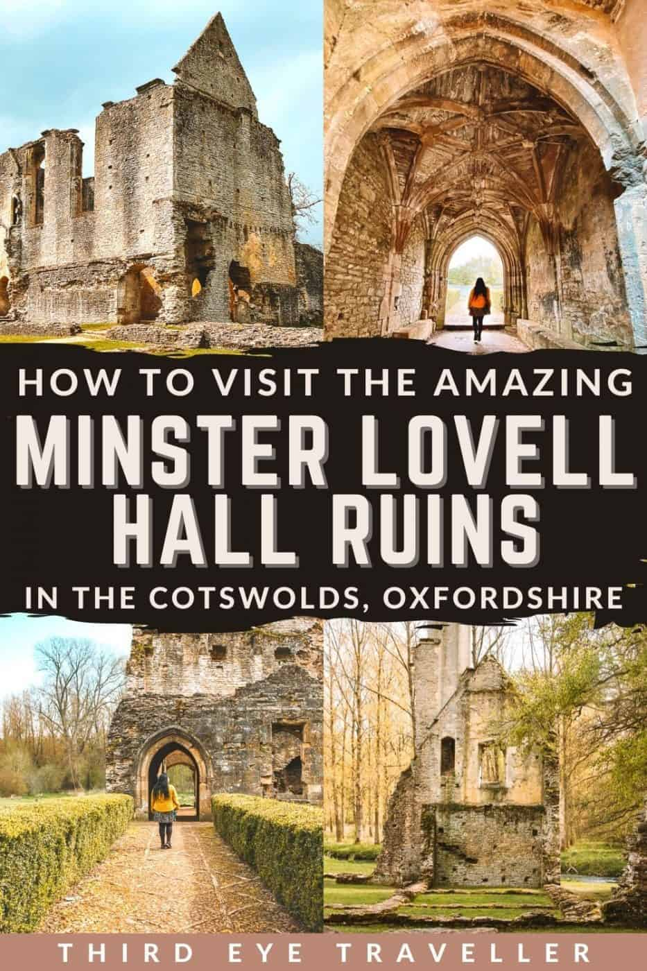 How to Visit Minster Lovell Hall Ruin Oxfordshire Cotswolds