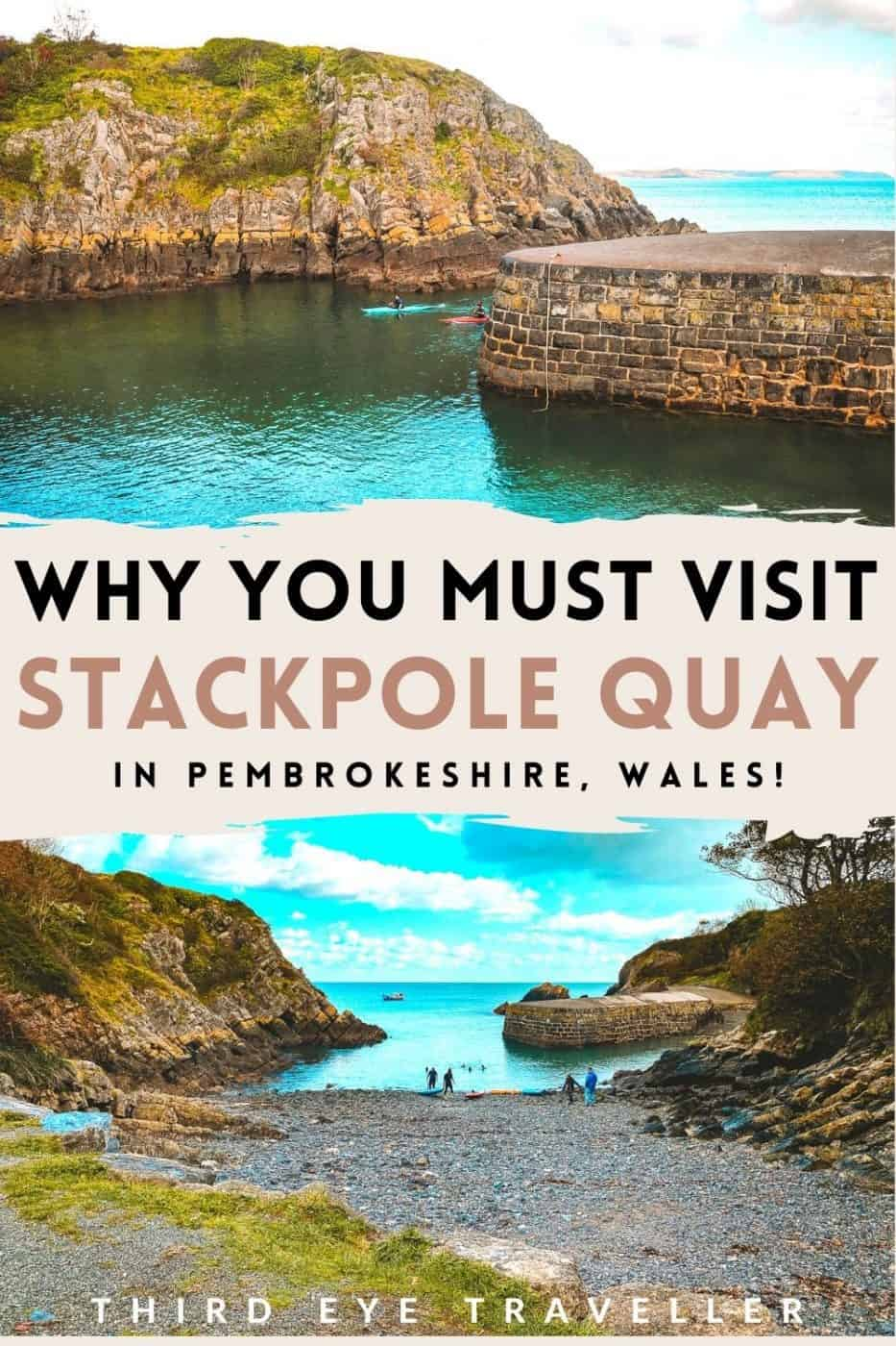 How to visit Stackpole Quay in Pembrokeshire
