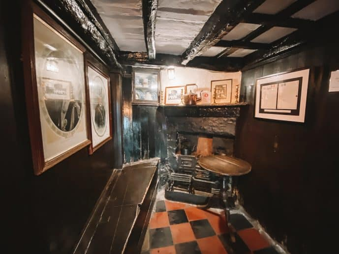 Inside the Smallest House of Great Britain