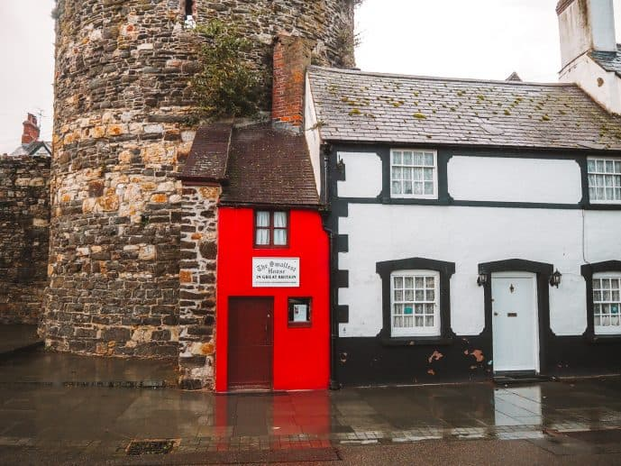 The Smallest House in Great Britain Conwy Wales