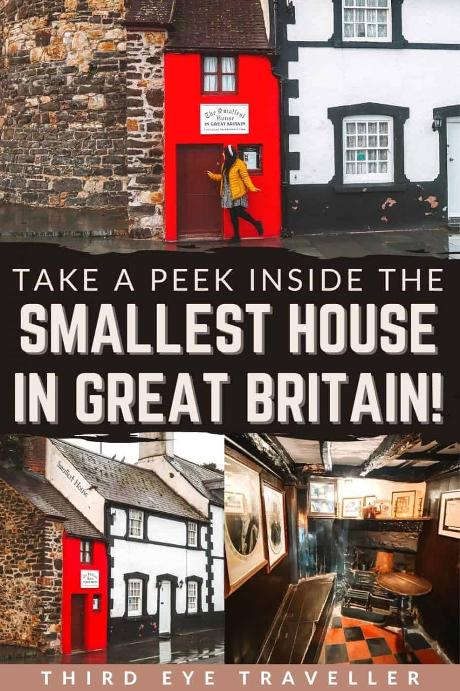 Inside Smallest House in Britain