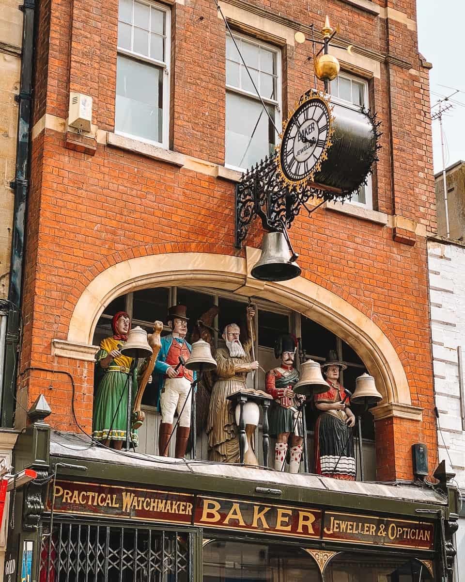 Gloucester Baker's Clock