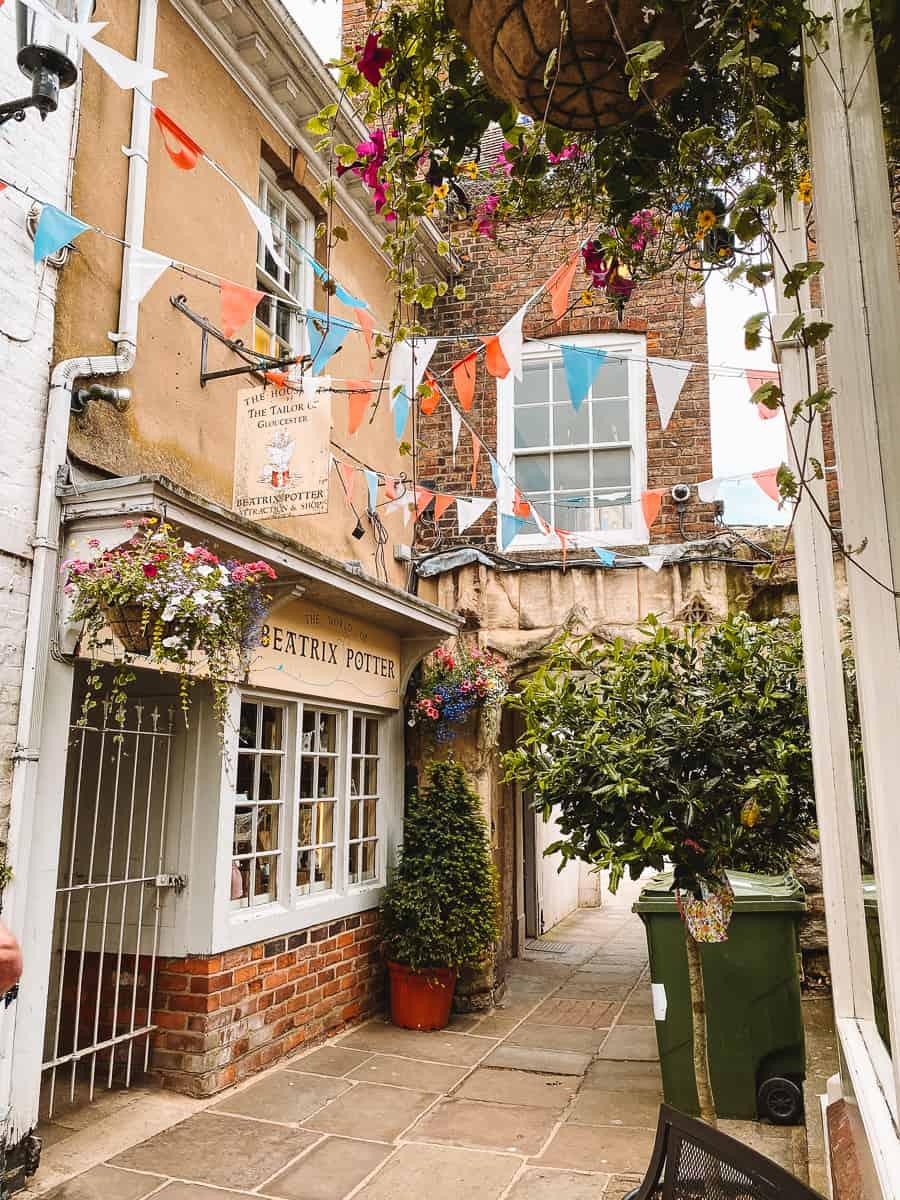 The Tailor of Gloucester Beatrix Potter Shop & Museum