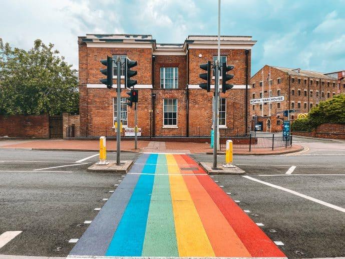 Rainbow Crossing Gloucester
