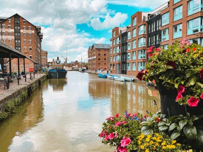 Gloucester Docks Main Basin