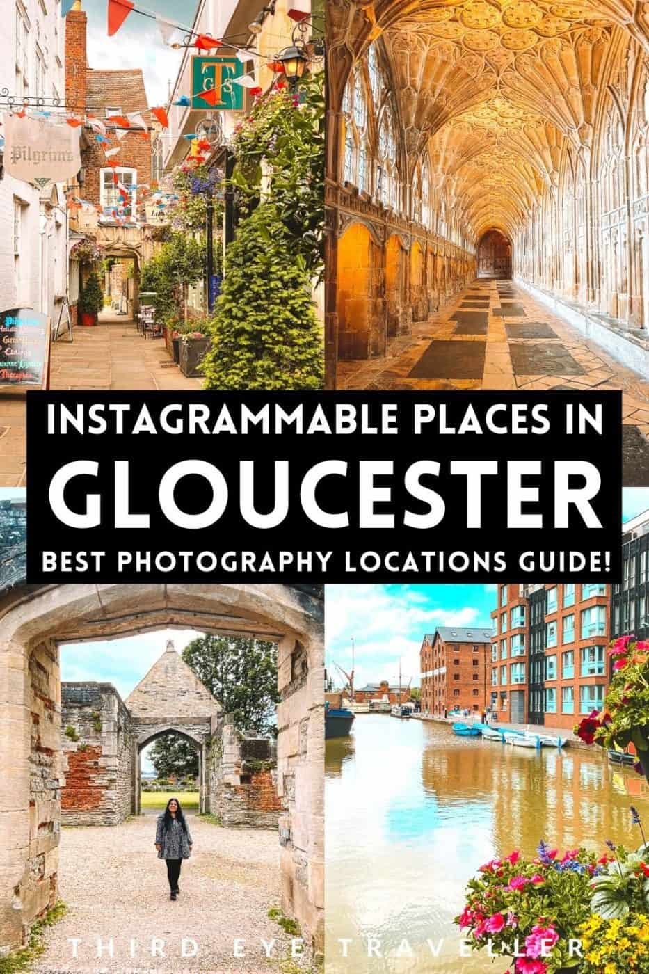 Instagrammable places in Gloucester photography locations