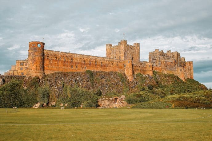 Bamburgh Castle Northumberland / Bebbanburg Castle