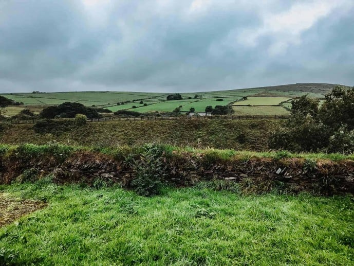 The gorgeous views of Bodmin Moor