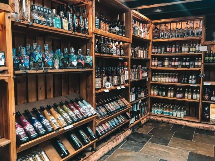 Jamaica Inn farm shop
