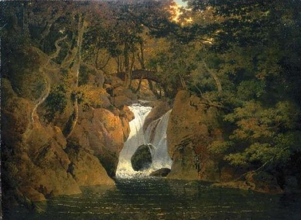 Joseph Wright of Derby, Rydal Falls