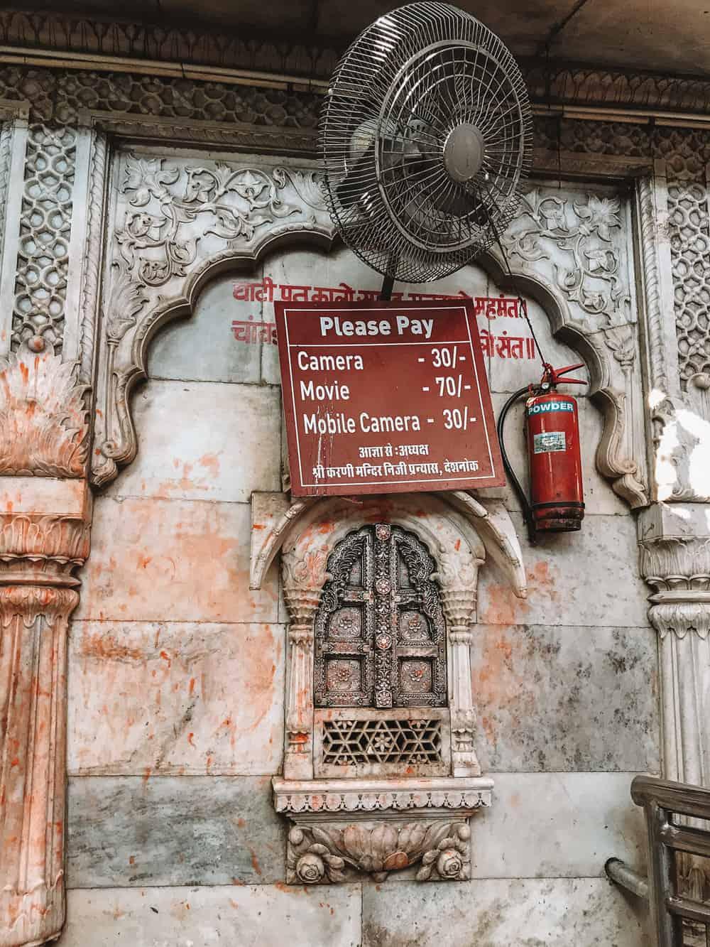 Photography at Karni Mata Temple