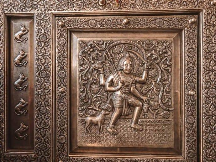 Karni Mata Temple entrance | Rat Temple in India