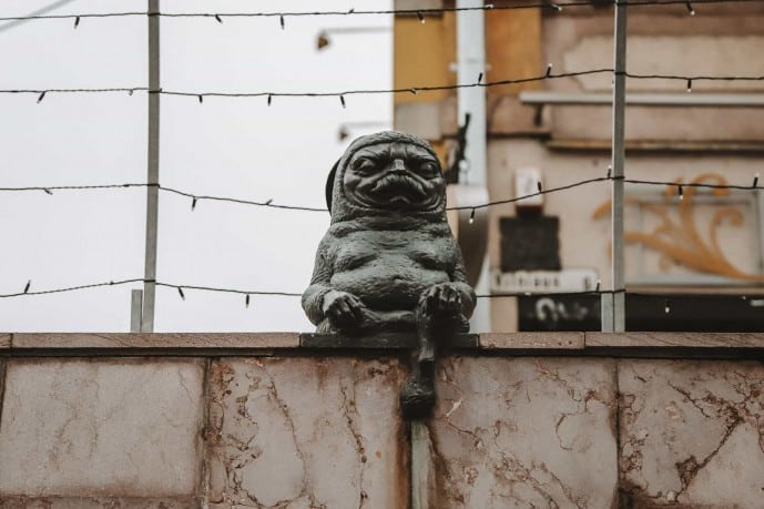 Zen Rabbit Kaunas Statue