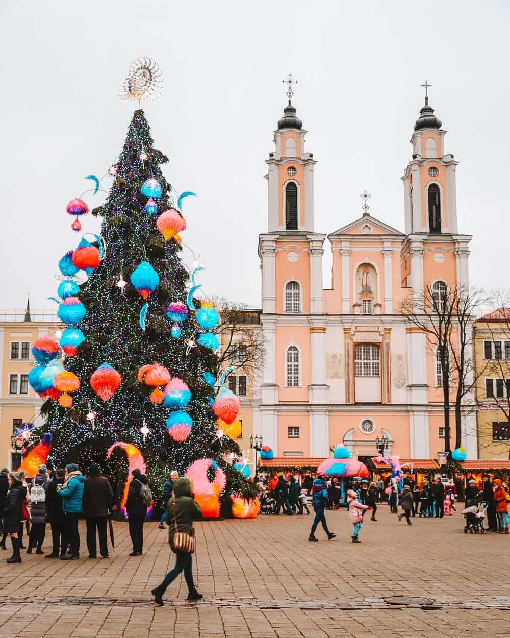 Kaunas Town Hall | Kaunas Christmas Tree | Things to do in Kaunas