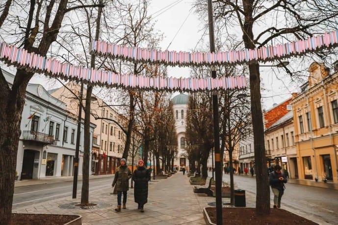 Freedom Avenue Kaunas | things to do in Kaunas