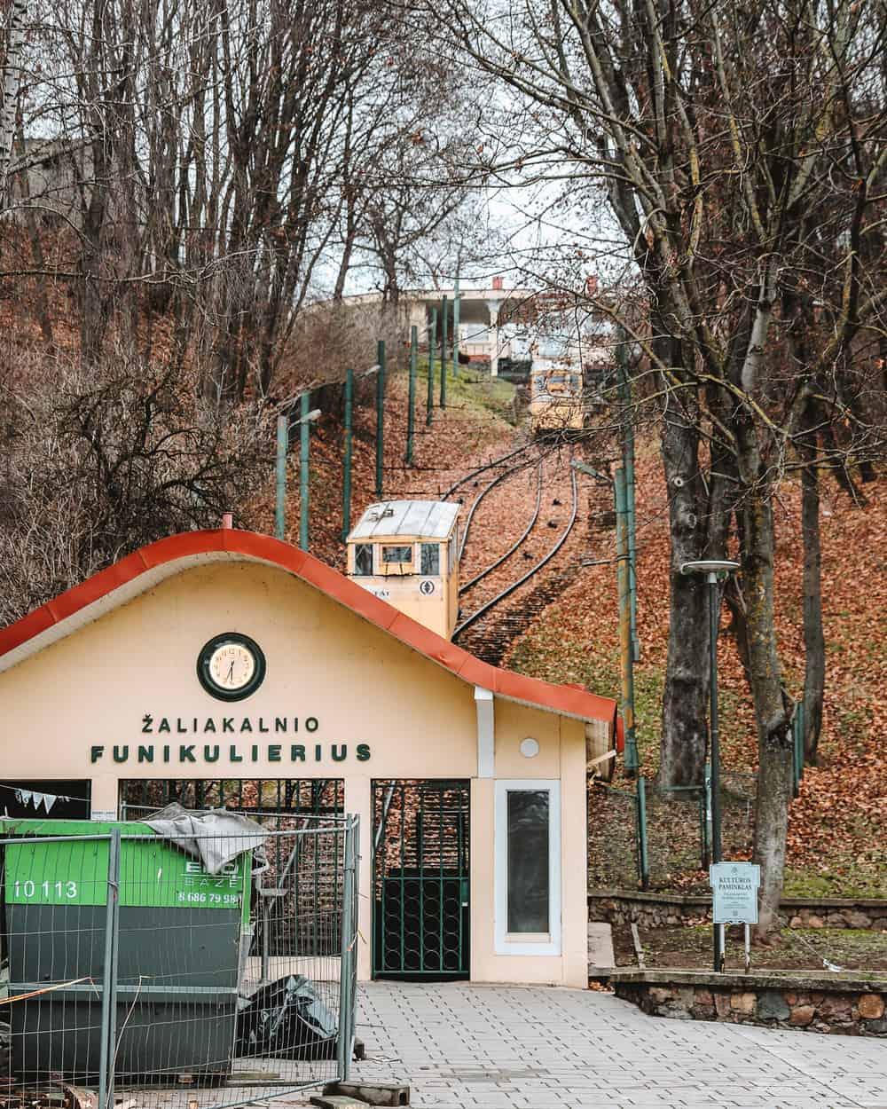 Žaliakalnis Funicular Kaunas | Things to do in Kaunas