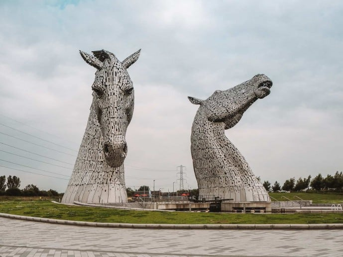 how tall are The Kelpies