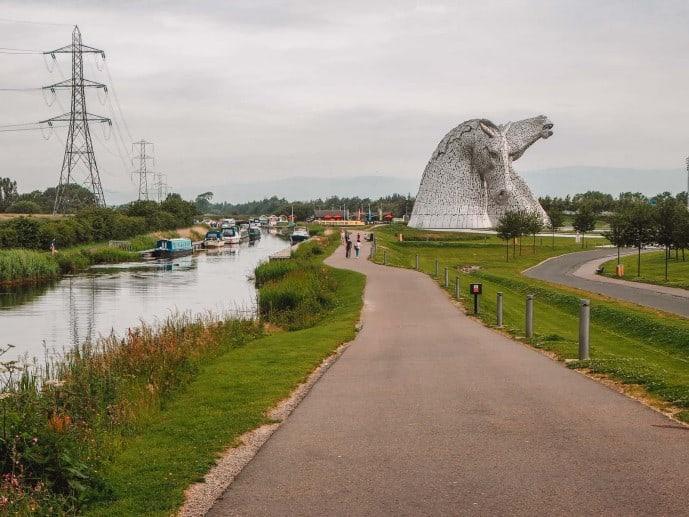 The Kelpies Car Parking charges