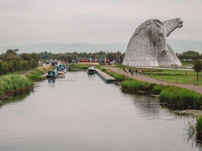 Visit the Kelpies, Scotland