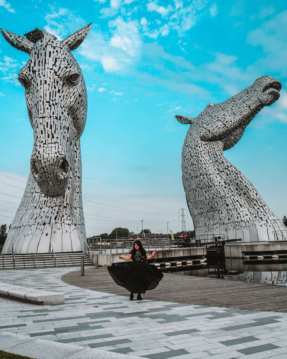 How to Visit the kelpies in Scotland