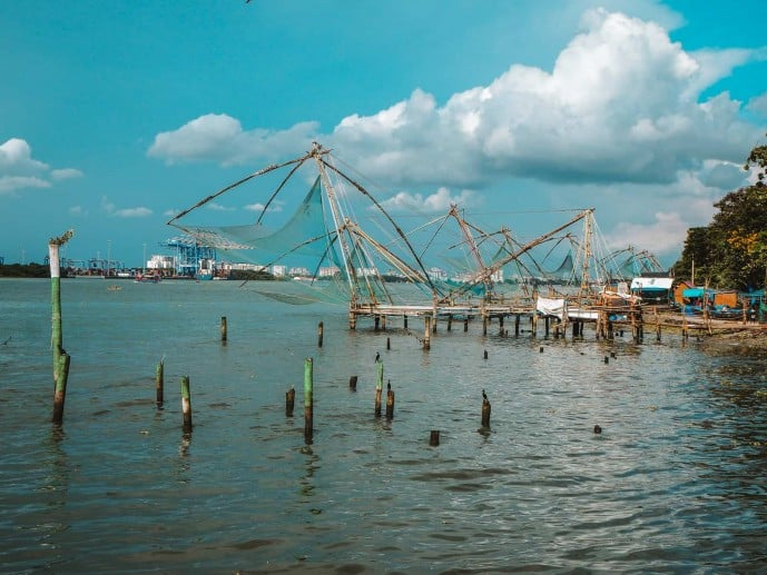 Things to do in Fort Kochi | Chinese Fishing Nets Fort Kochi