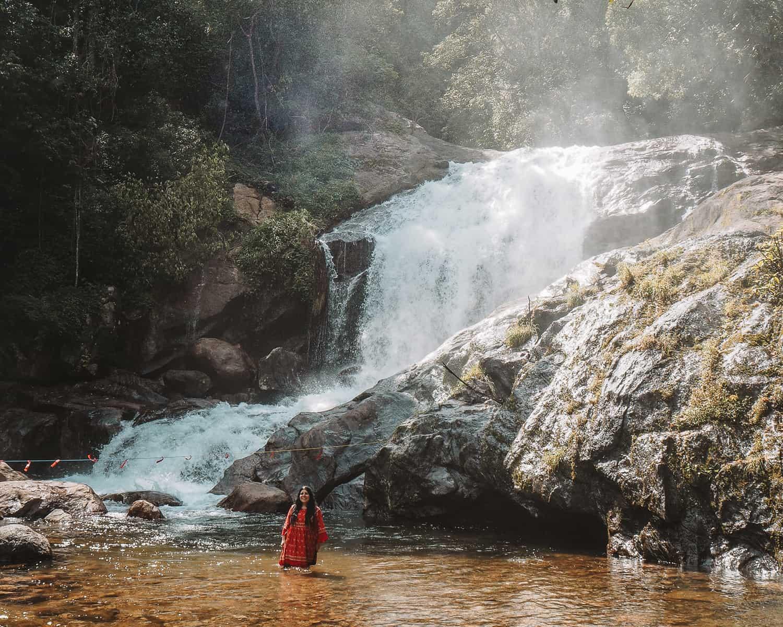 Lakkam Waterfalls Munnar | One week in Kerala | Best Waterfalls in Munnar