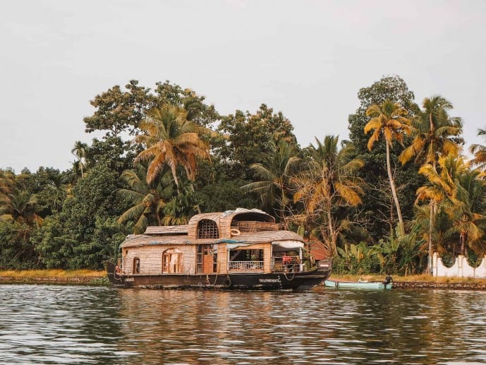 Kerala Houseboat in Alleppey