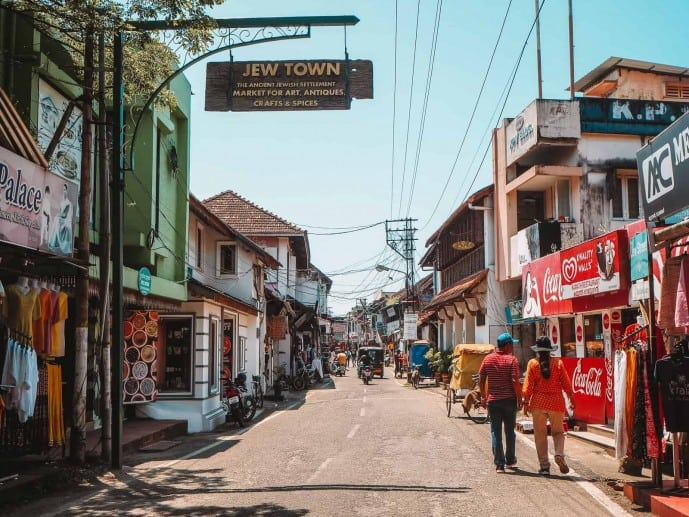Jew Town Fort Kochi | Things to do in fort Kochi