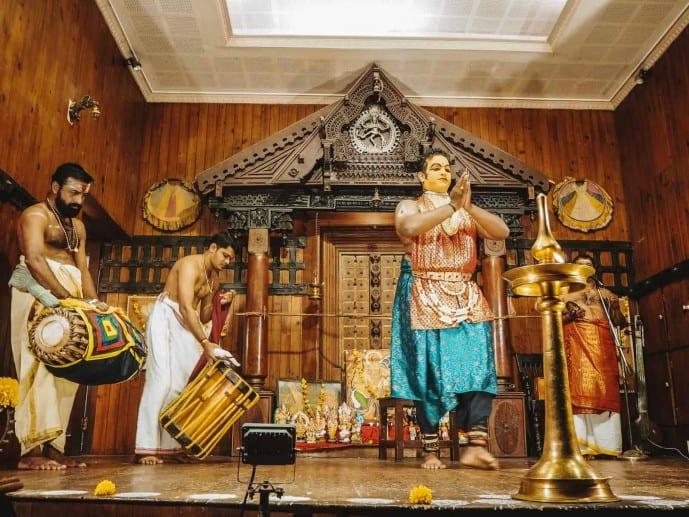 Kathakali Performance in Fort Kochi