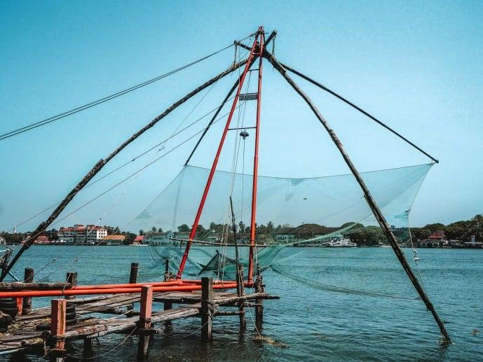 Vypeen Island fishing nets