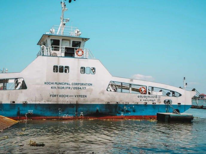 Ferry to Vypeen Island kochi