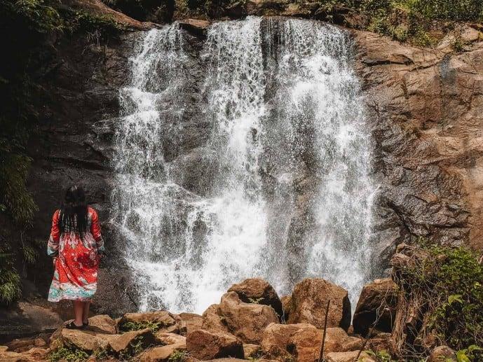 Munnar Waterfall