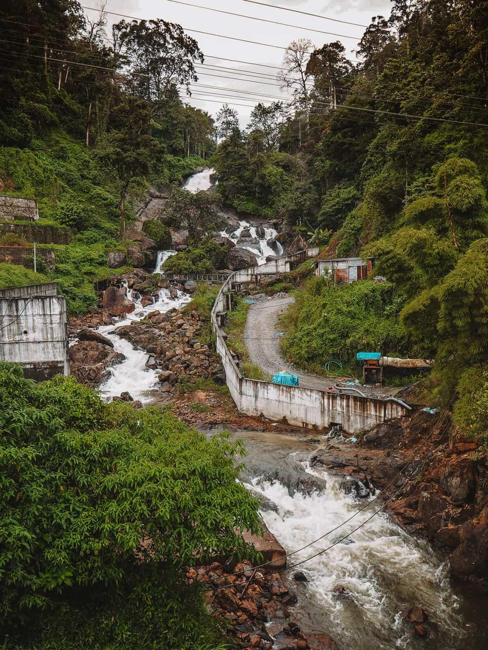Kallar Waterfalls | Best Waterfalls in Munnar